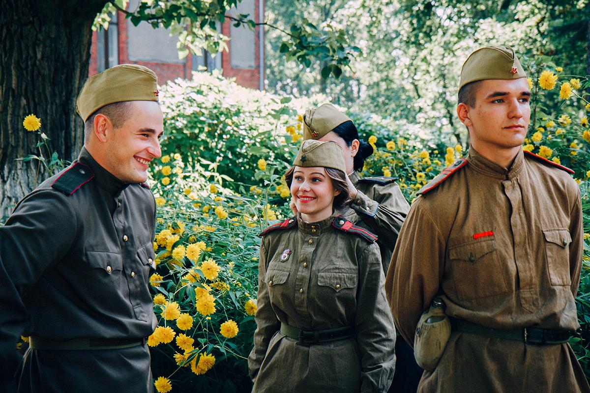 По законам военного времени на Первом канале